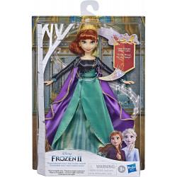 Muñeca de Anna canto de Disney Frozen