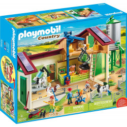 PLAYMOBIL Country Granja con Silo,