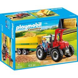 PLAYMOBIL Country Tractor con Remolque, A partir de 4 años