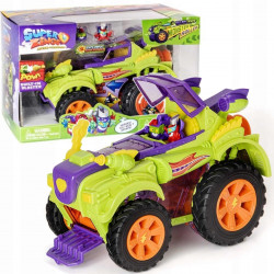 Superzings Camión Villano Monster Roller y Figuras Exclusivas