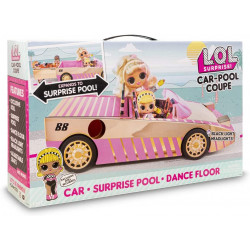 L.O.L. Surprise - Car-Pool Coupé S7 Con Muñeca