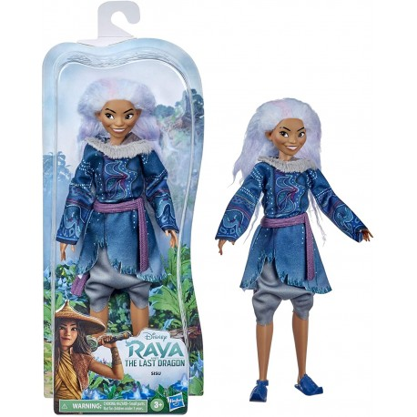Hasbro Disney Princess Raya, Muñeca Sisu
