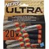 Nerf Pack de 20 dardos para lanzadores Ultra