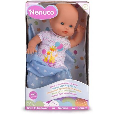 Nenuco Recién Nacido - Muñeco Infantil con Sonidos de Bebé