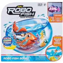 Robo Fish Fish-ZU7126 Playset Acuario, Color Blanco