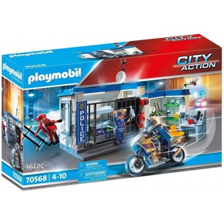 PLAYMOBIL City Action 70568 Policía: Fuga de la cárcel